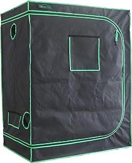 "Green Hut 48""X32""X60"" 600D Mylar Hydroponic Indoor Grow Tent"