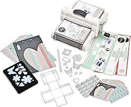 Sizzix 661546 Máquina de Troquelado Manual para Manualidades, álbumes de Recortes y Tarjetas, Apertura de 21 cm, Big Shot Plus Kit de Inicio My Life Handmade #2, 21cm