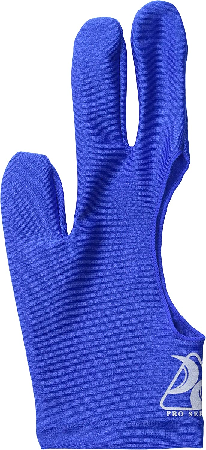 Pro Series Billiard Gloves Super Special SALE held Spring new work Blue Small