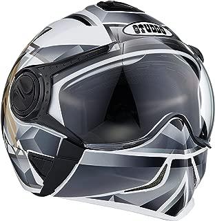 Studds Full Face Helmet Downtown D3 (White N4, L)
