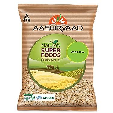 Aashirvaad Organic Urad Dal, 500g
