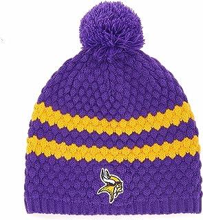 OTS NFL Minnesota Vikings Women's Winona Beanie Knit Cap, Team Color, Women's