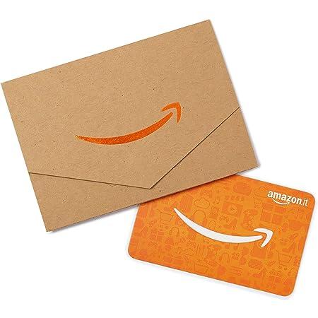 Buono Regalo Amazon.it - Bustina Carta da pacchi-Arancione
