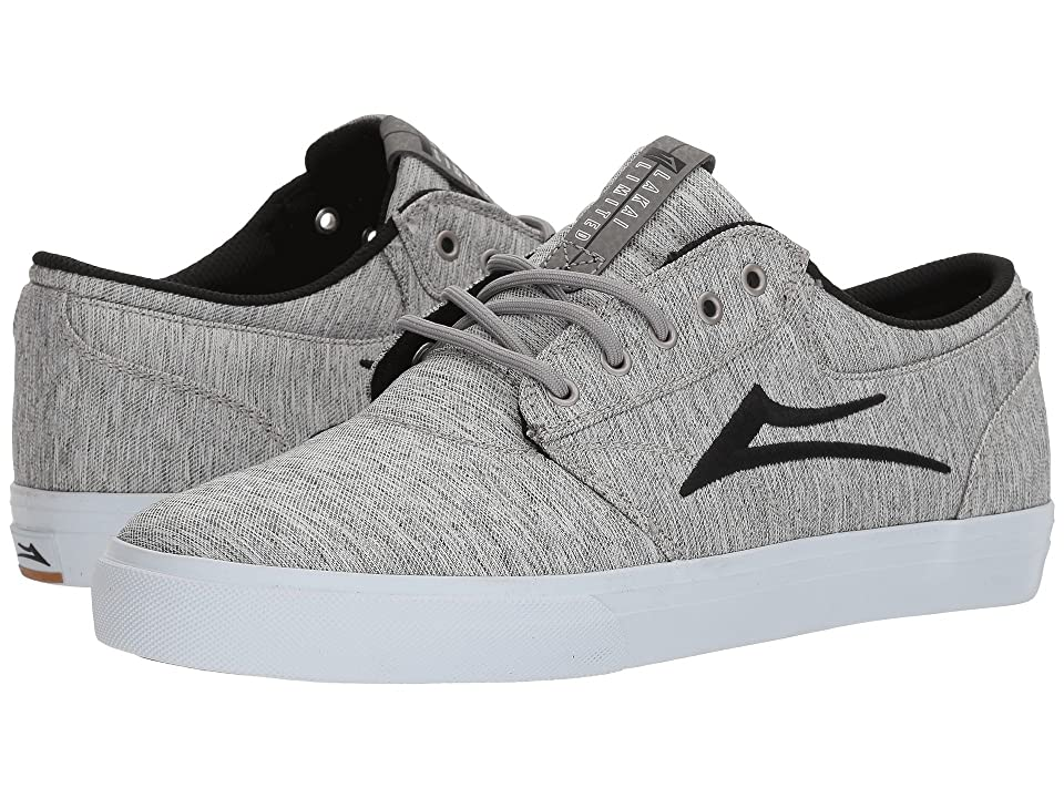Lakai Griffin (Grey Black Textile) Men
