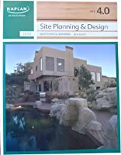 KAPLAN AE Education - ARE 4.0 - Site Planning & Design - Practice Questions and Answers (KAPLAN AE Education)