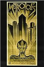 Metropolis Poster B 27x40 Brigitte Helm Alfred ABEL Gustav Froehlich Movie Poster Print, 27x40