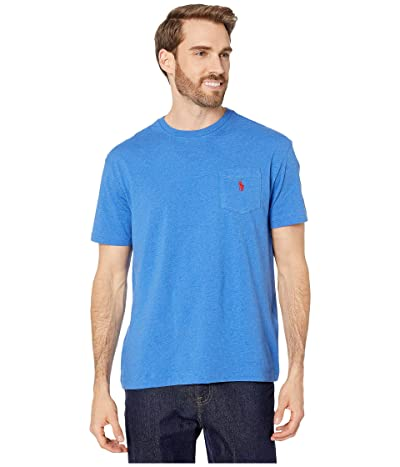 Polo Ralph Lauren Classic Fit Pocket Tee (Dockside Blue Heather) Men