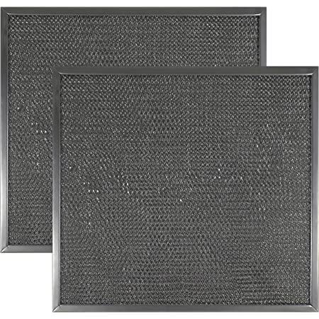 Range Hood Charcoal Filter Ventline Grease Filter 97007696 S97007696 6105C Kenmore 2 Pack Replacement Range Hood Filter 8-3//4 x 10-1//2 x 3//32 Kitchen Grease Filter Compatible with Broan Maytag