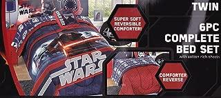 Jay Franco Star Wars Ep 7 Bed Set, Black