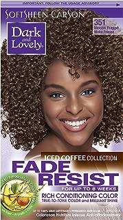 Softsheen Carson Fade Resist Rich Conditioning Color Iced Coffee Mocha Frapp - 402