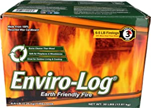 product image for Enviro-Log, Fire Log Case, 80 Ounce, 6 Pack