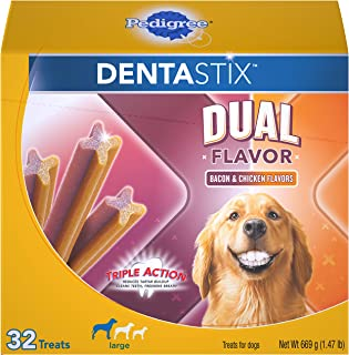 Pedigree Dentastix Dental Treats for Dogs - Large (30 lb +)