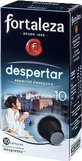 Café FORTALEZA - Cápsulas de Café Despertar Compatibles con Nespresso - Pack 1 x 10 - Total: 10 Cápsulas
