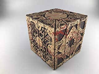 1:1 Hellraiser Puzzle box in Lament and star configuration with blood splatter