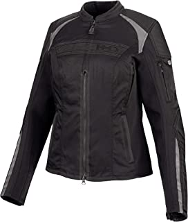 Harley-Davidson Women's Ledgeview Stretch Riding Jacket, Black