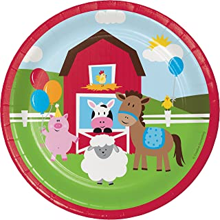 Farm Fun Dessert Plates, 24 ct
