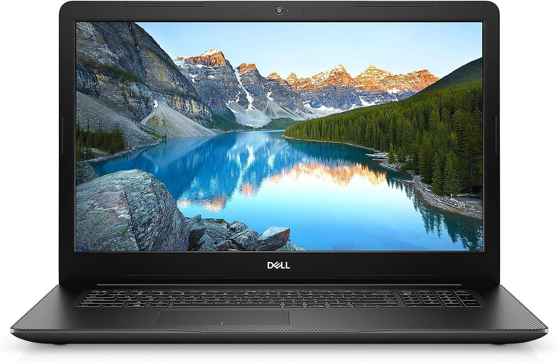 Newest Dell Inspiron 17 3000 17.3 inch HD Laptop - Intel Corei7-1065G7, Intel UHD Graphics, Webcam, HDMI,DVD Drive , USB 3.1, Wi-fi, Windows 10 Home, Tikbot 32GB MSD Card – Black (Latest Model)