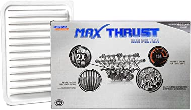 Spearhead MAX THRUST Performance Engine Air Filter For Low & High Mileage Vehicles - Increases Power & Improves Acceleration (MT-190)