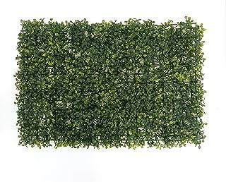 Combo 20 Piezas de Follaje Artificial Boxwood para Muro 60 x 40 cm pz (Verde Oscuro)