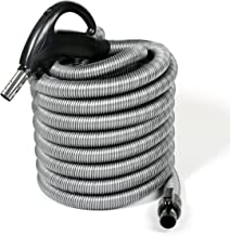 35 Feet Long Direct Connect Hose Compatible with Beam Electrolux Central Vacuum Cleaner