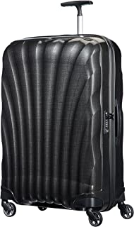 Samsonite 73351 Cosmo lite 3 Spinner Hard Side Luggage, Black, 75 Centimeters