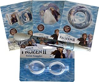 What Kids Want Frozen 2 Inflatable Pool Toy Swim Sets (5 Piece, Frozen)