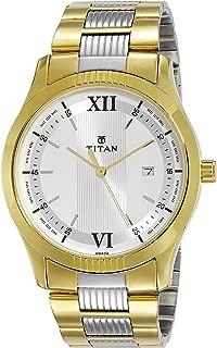 Titan Karishma Analog Silver Dial Men's Watch-NK1739BM01