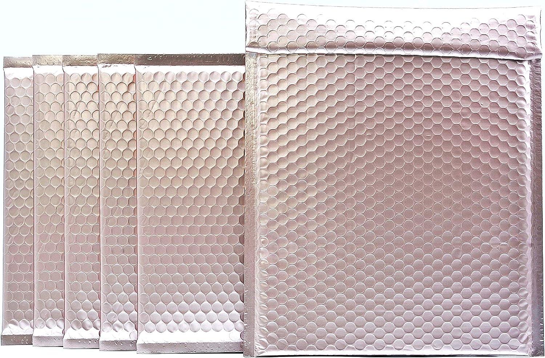 ProLine Matte Metallic Rose Gold Padded Cheap SALE Start 8.5x12 In Mailers Bubble Sale SALE% OFF