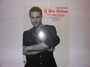 If You Believe sheet music composed by Jim Brickman