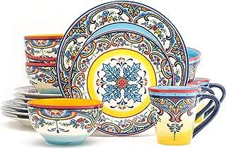 floral stoneware dinnerware