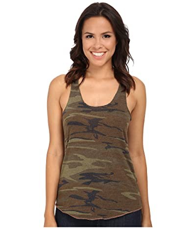 Alternative Printed Meegs Racer Tank (Camo) Women