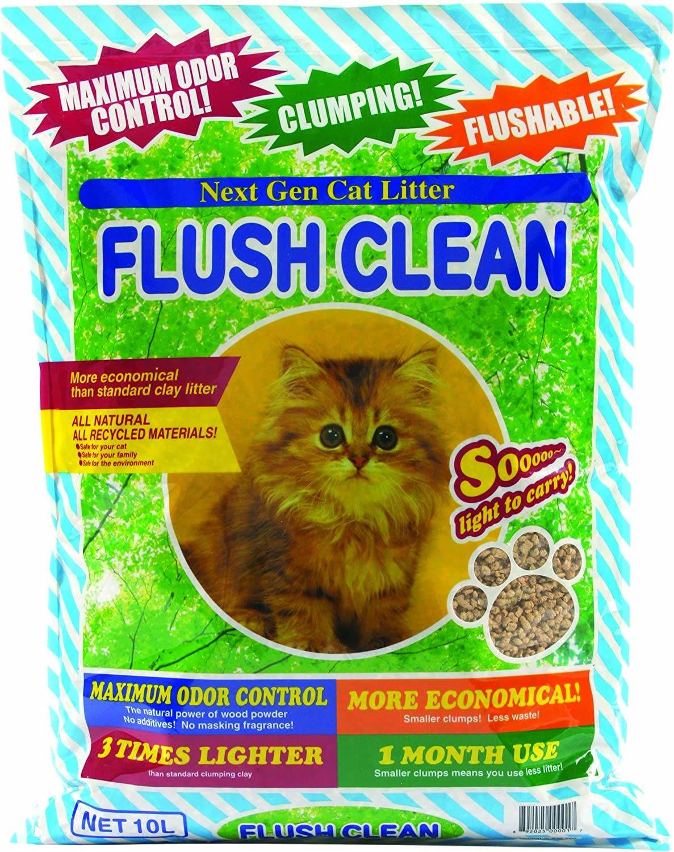 Next Gen FC10 Flush Clean Cat Litter  10L Bag