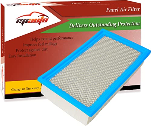 wholesale EPAuto GP242 online sale (CA10242) Replacement for Ford / Mazda / Lincoln wholesale / Mercury Extra Guard Panel Engine Air Filter for Edge(2007-2014), Explorer(2011-2020),Flex(2009-2019),Taurus(2010-2019),MKT(2010-2019) outlet online sale