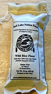 (GLUTEN FREE) MINNESOTA WILD RICE FLOUR 1LB Cloth BagAll NATURAL NO PRESERVATIVES