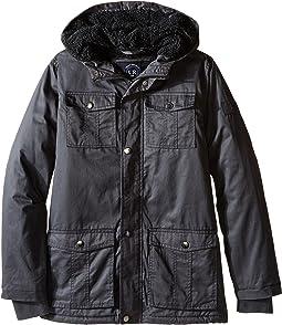 Cotton Twill Safari Jacket (Big Kids)