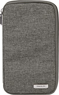 Travelon: Family Passport Wallet - Gray Heather
