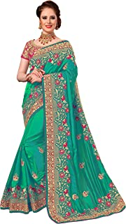 SARVADARSHI FASHION Women's Pure Silk Saree With Unstitched Blouse Piece