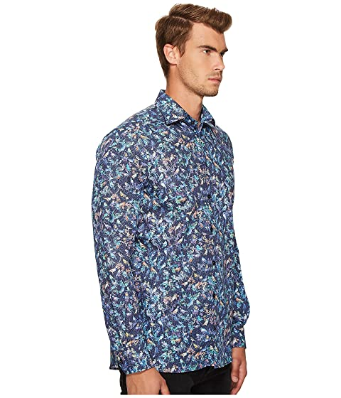 Bird Print Contemporary Shirt Fit Eton wRqYEx6x