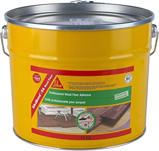 SIKA SKBD5413 SikaBond 54 Professional, Fast Curing, Solvent Free, Wood Floor Adhesive, Brown, 13 kg