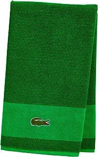 "Lacoste Match Bath Towel, 100% Cotton, 600 GSM, 30""x52"", Field Green"