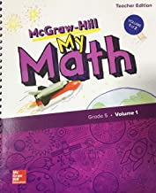 My Math Grade 5 Volume 1 - Teacher Edition