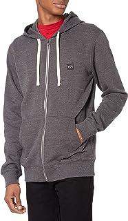 Men's Classic Premium Full Zip Fleece Sweatshirt Hoodie