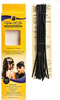 Wrap-A-Loc Experience The Dual Hair Styling Tool Tool Versatility & Technique Creates Lasting Curls Size Large Instructions included