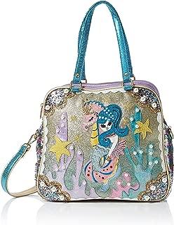 Womens Barnacle Betty Bag Top-Handle Bag Multicolour (Green/Purple)
