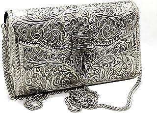 Trend Overseas Brass Metal Bag Purse Vintage Style Brass Purse antique clutch Ethnic clutch Handmade Women metal clutch Bag