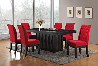 Amazon.com: Red - Table & Chair Sets / Kitchen & Dining Room ...