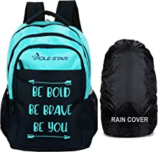 POLESTAR Bold 42 ltrs with RAIN Cover Casual Backpack/School bagpack/Travel Bag (TBlue)