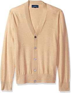 Buttoned Down Mens MBD35014 Italian Merino Cashwool Cardigan Sweater Cardigan Sweater