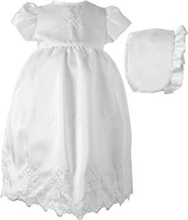 4f668174e Lauren Madison Baby-Girls Newborn Shantung Dress Gown Outfit
