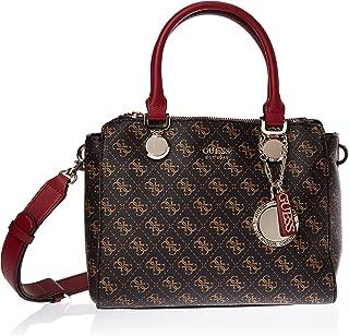 GUESS Womens Aline Status Satchel Bag
